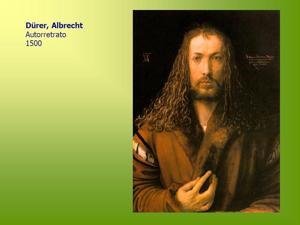 Dürer, Albrecht Autorretrato 1500