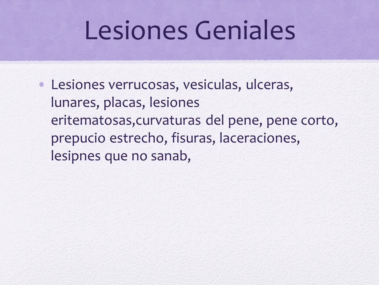 Lesiones Geniales