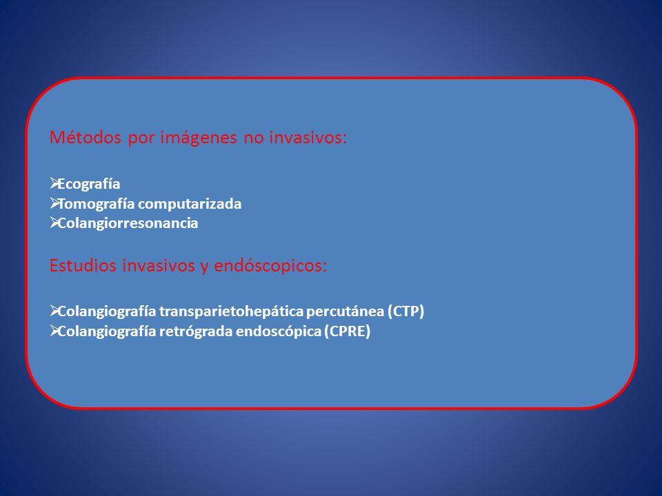 Métodos por imágenes no invasivos:
