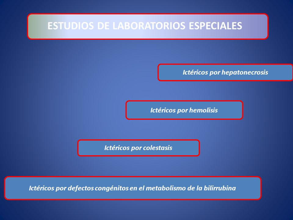 ESTUDIOS DE LABORATORIOS ESPECIALES