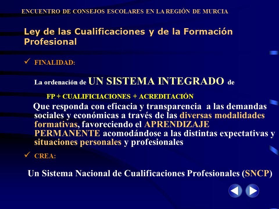 Ley de las Cualificaciones y de la Formación Profesional