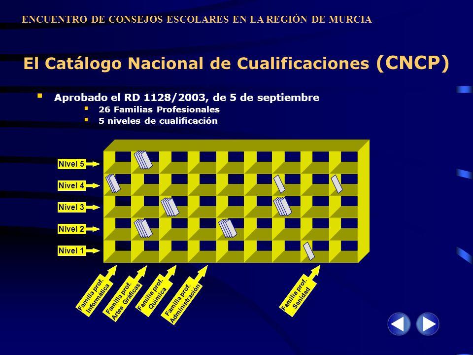 El Catálogo Nacional de Cualificaciones (CNCP)