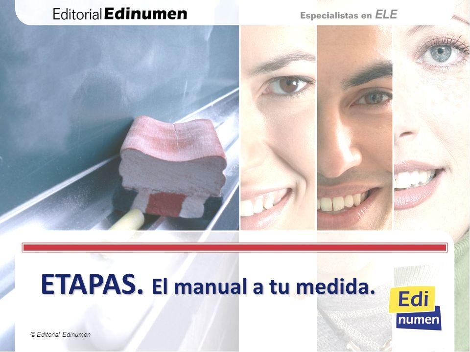 ETAPAS. El manual a tu medida.