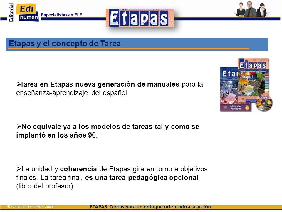 Etapas y el concepto de Tarea