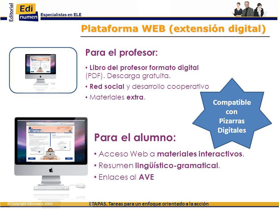 Compatible con Pizarras Digitales