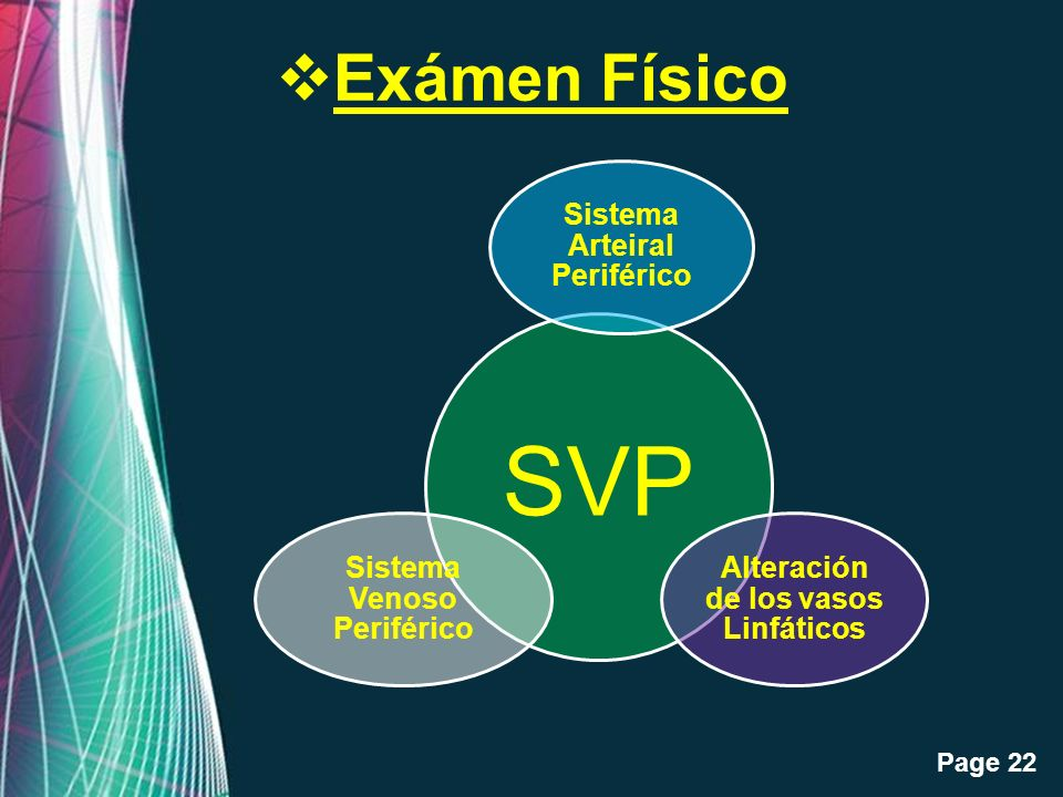 Exámen Físico Sistema Arteiral Periférico