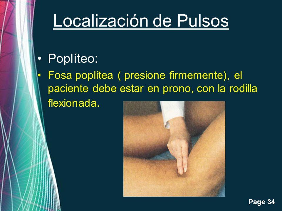 Localización de Pulsos