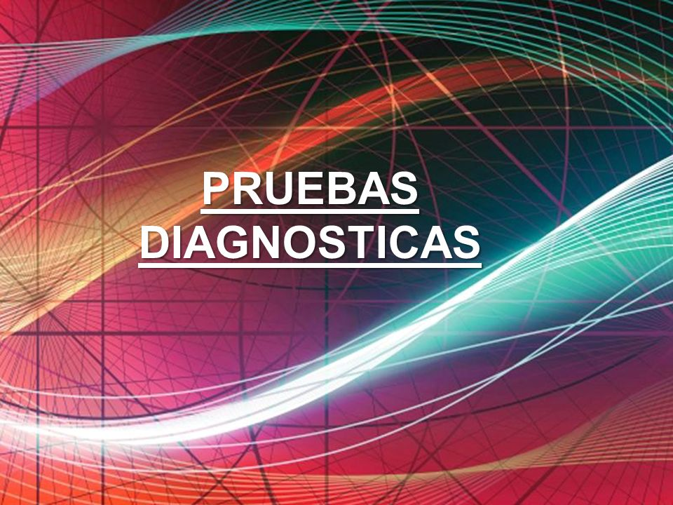 PRUEBAS DIAGNOSTICAS Free Powerpoint Templates