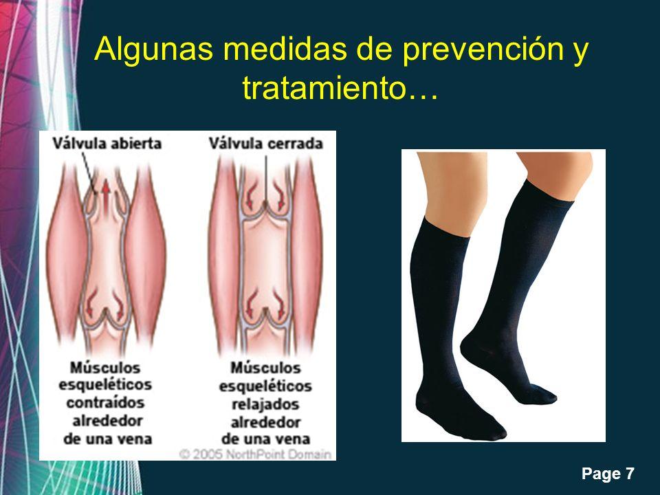 Algunas medidas de prevención y tratamiento…
