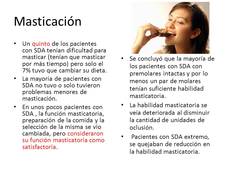 Masticación