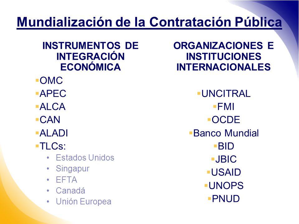 Mundialización de la Contratación Pública