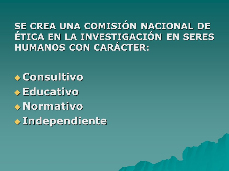 Consultivo Educativo Normativo Independiente