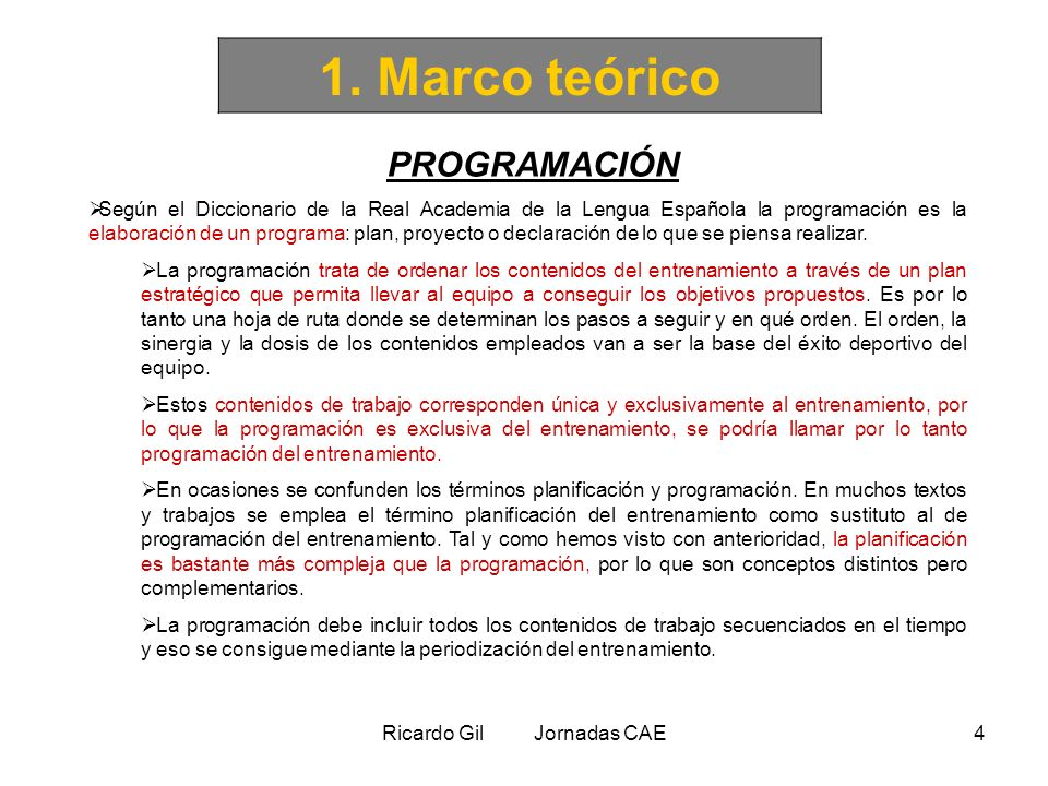 Ricardo Gil Jornadas CAE