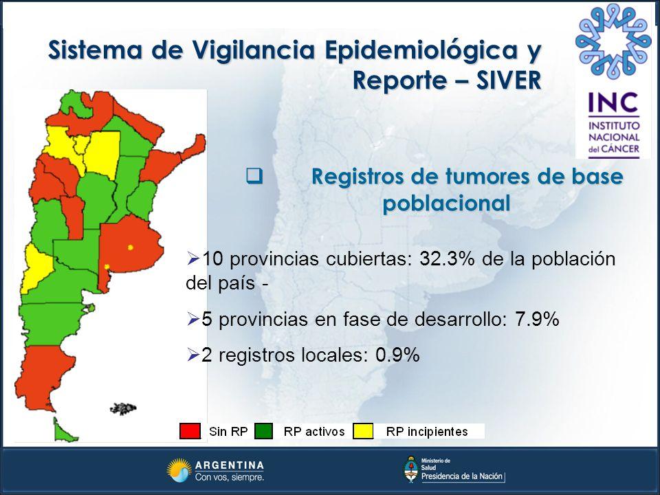 Registros de tumores de base poblacional