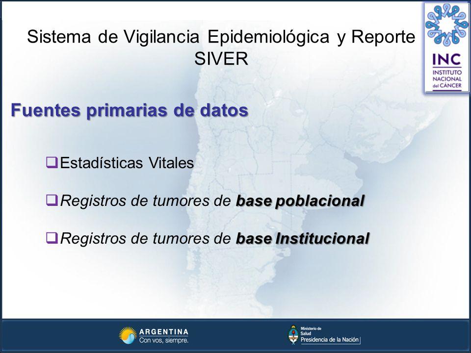 Sistema de Vigilancia Epidemiológica y Reporte SIVER