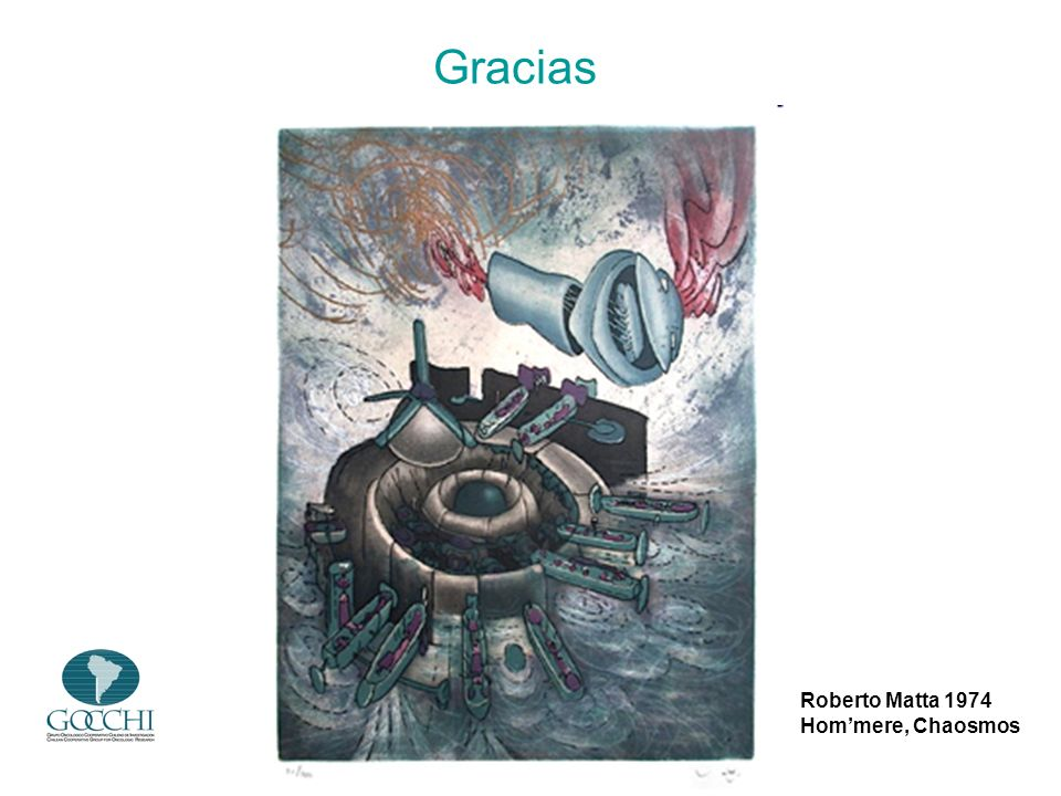 Gracias Roberto Matta 1974 Hom'mere, Chaosmos