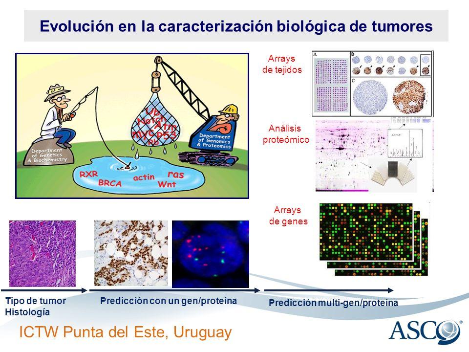 Evolución en la caracterización biológica de tumores