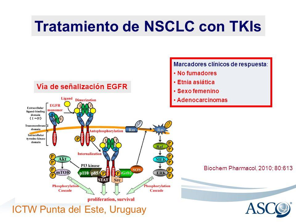 Tratamiento de NSCLC con TKIs