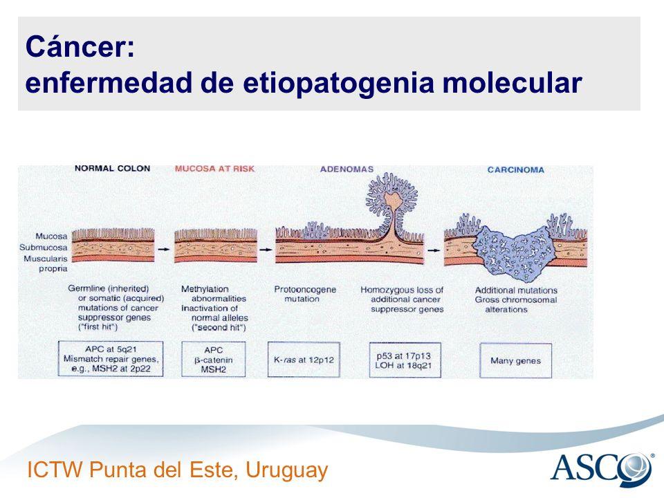Cáncer: enfermedad de etiopatogenia molecular