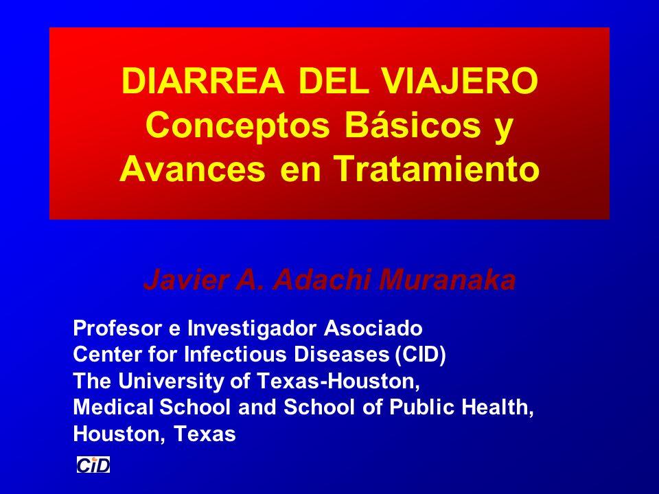 DIARREA DEL VIAJERO Conceptos Básicos y Avances en Tratamiento