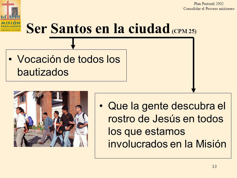 Ser Santos en la ciudad (CPM 25)