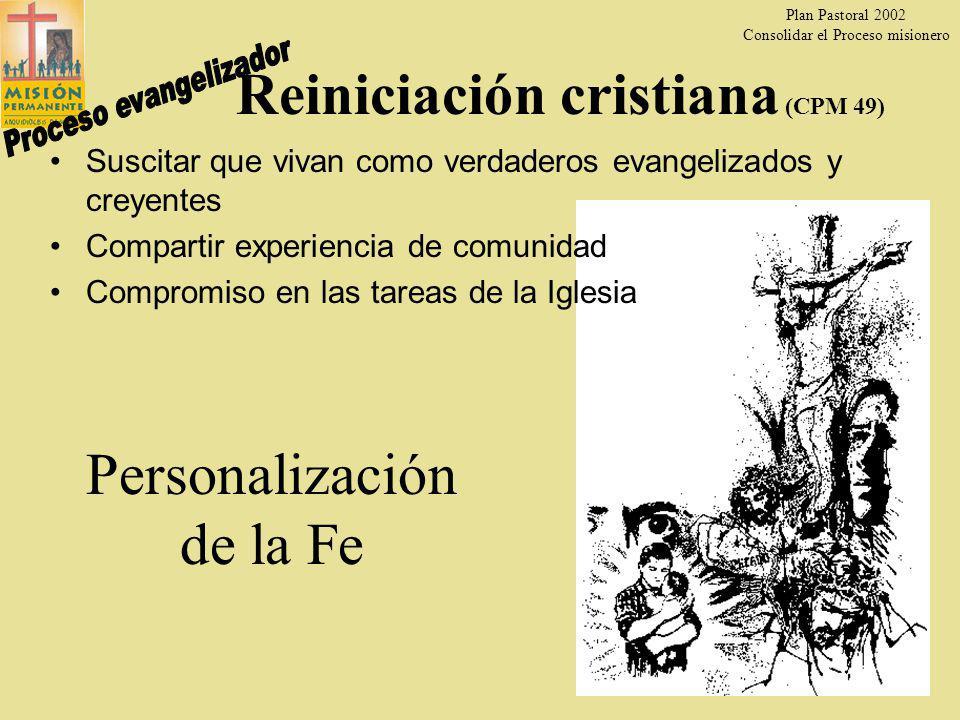 Reiniciación cristiana (CPM 49)