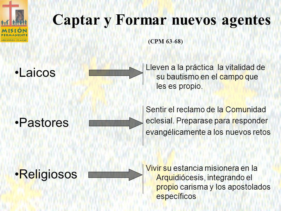 Captar y Formar nuevos agentes (CPM 63-68)