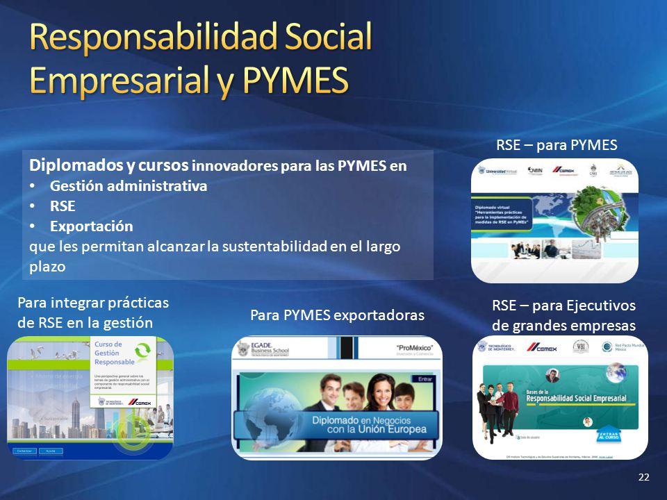 Responsabilidad Social Empresarial y PYMES