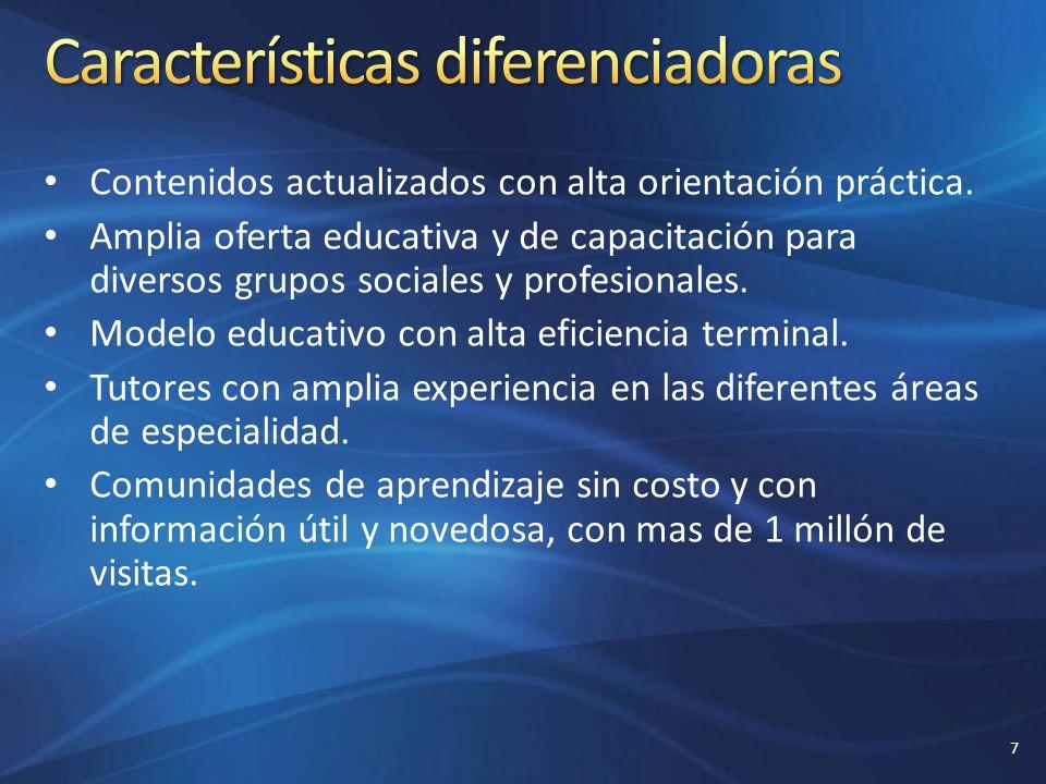 Características diferenciadoras