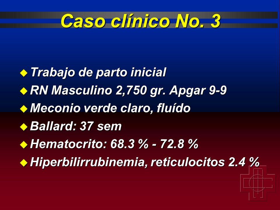 Caso clínico No. 3 Trabajo de parto inicial