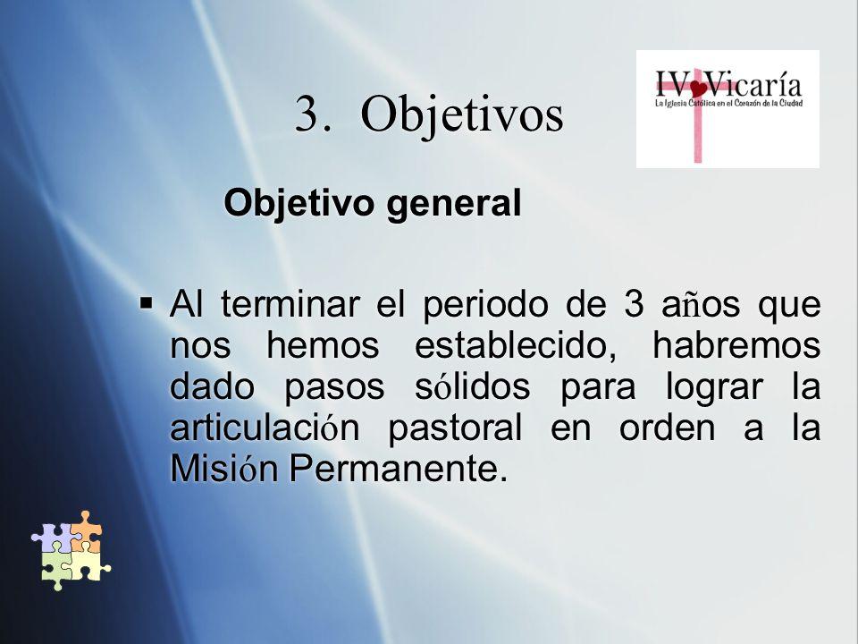 3. Objetivos Objetivo general