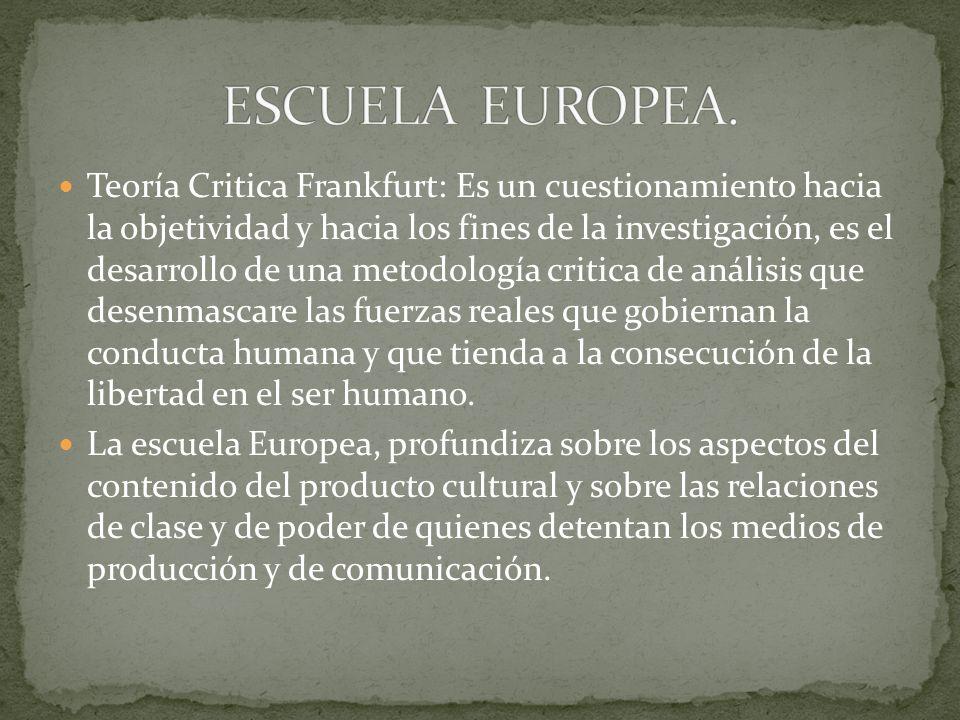 ESCUELA EUROPEA.