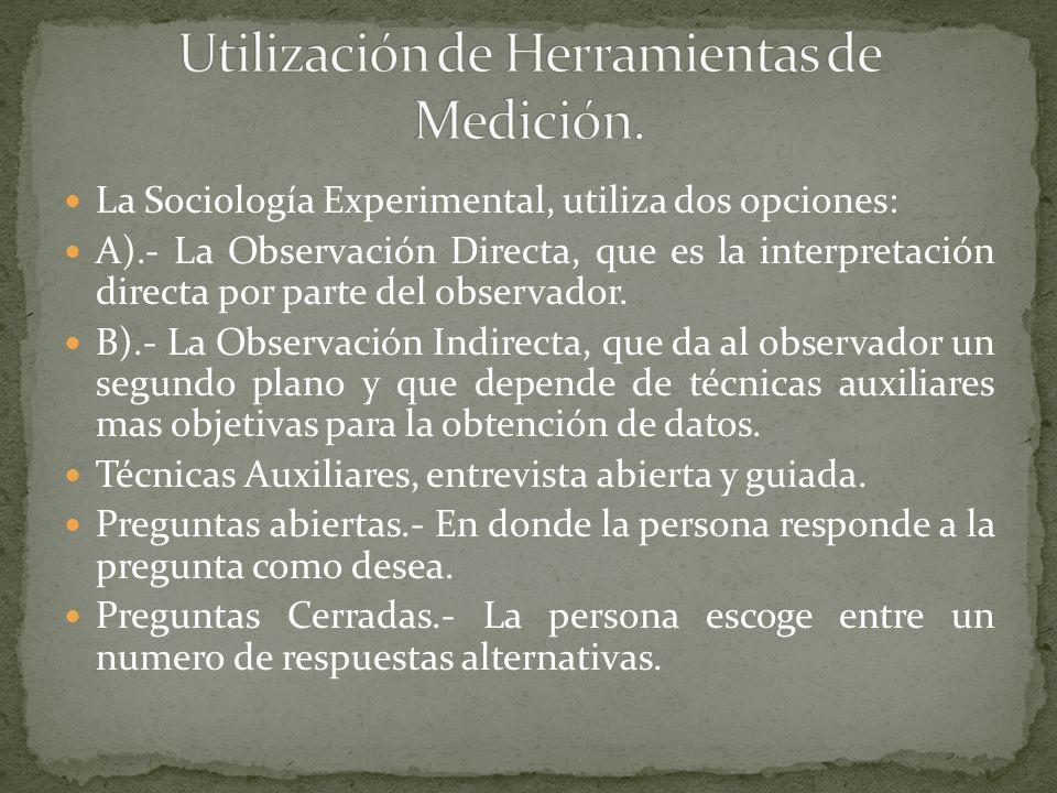 Utilización de Herramientas de Medición.