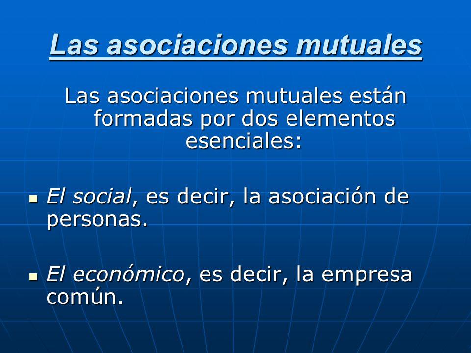 Las asociaciones mutuales