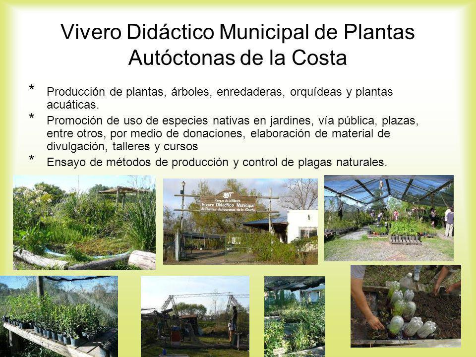 Vivero Didáctico Municipal de Plantas Autóctonas de la Costa
