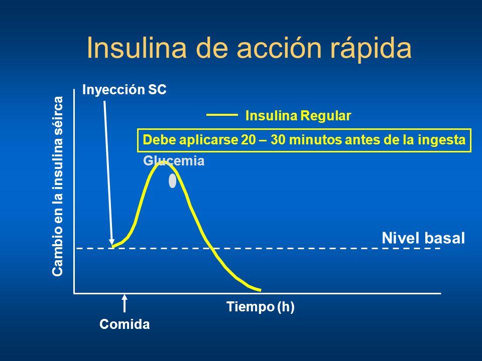 Insulina de acción rápida