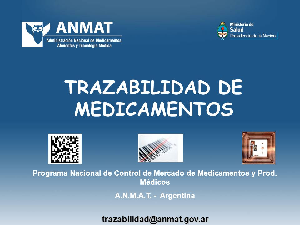 TRAZABILIDAD DE MEDICAMENTOS
