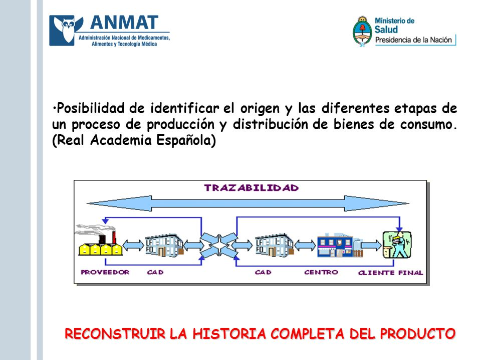 RECONSTRUIR LA HISTORIA COMPLETA DEL PRODUCTO