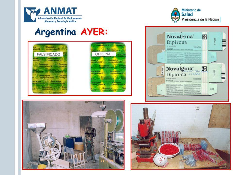 Argentina AYER: