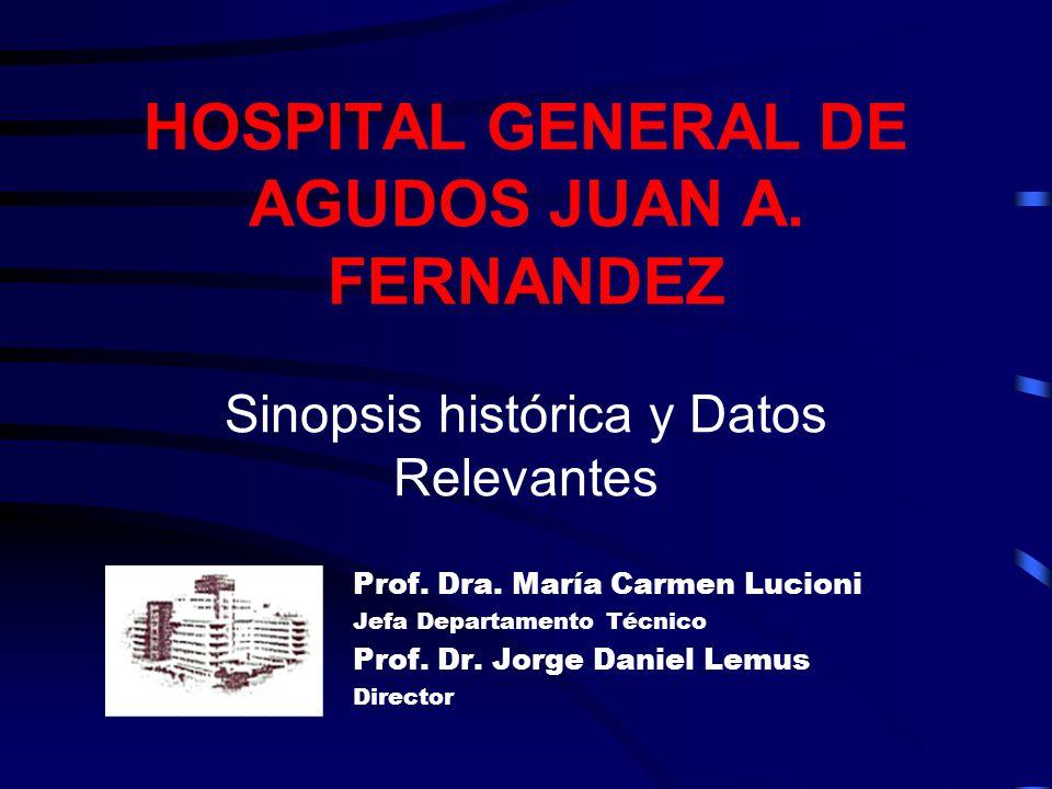 HOSPITAL GENERAL DE AGUDOS JUAN A