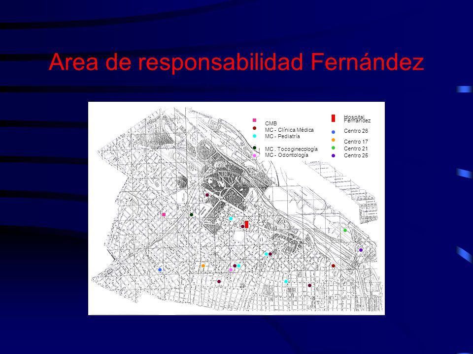 Area de responsabilidad Fernández
