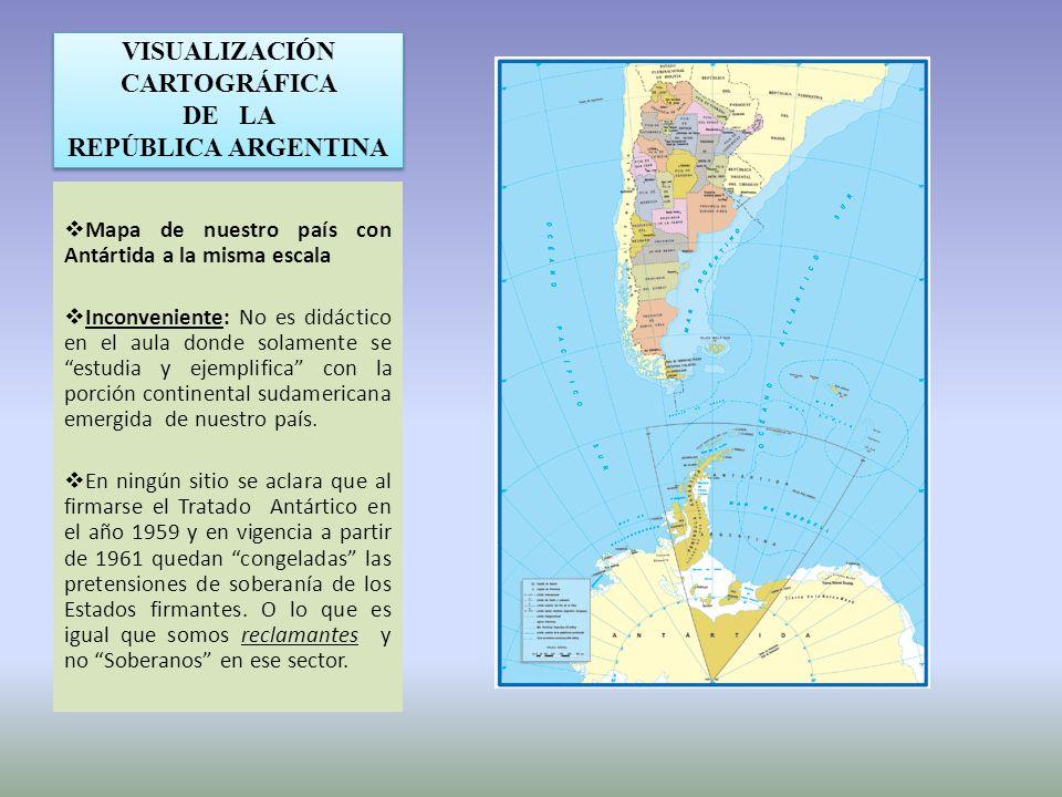 VISUALIZACIÓN CARTOGRÁFICA DE LA REPÚBLICA ARGENTINA