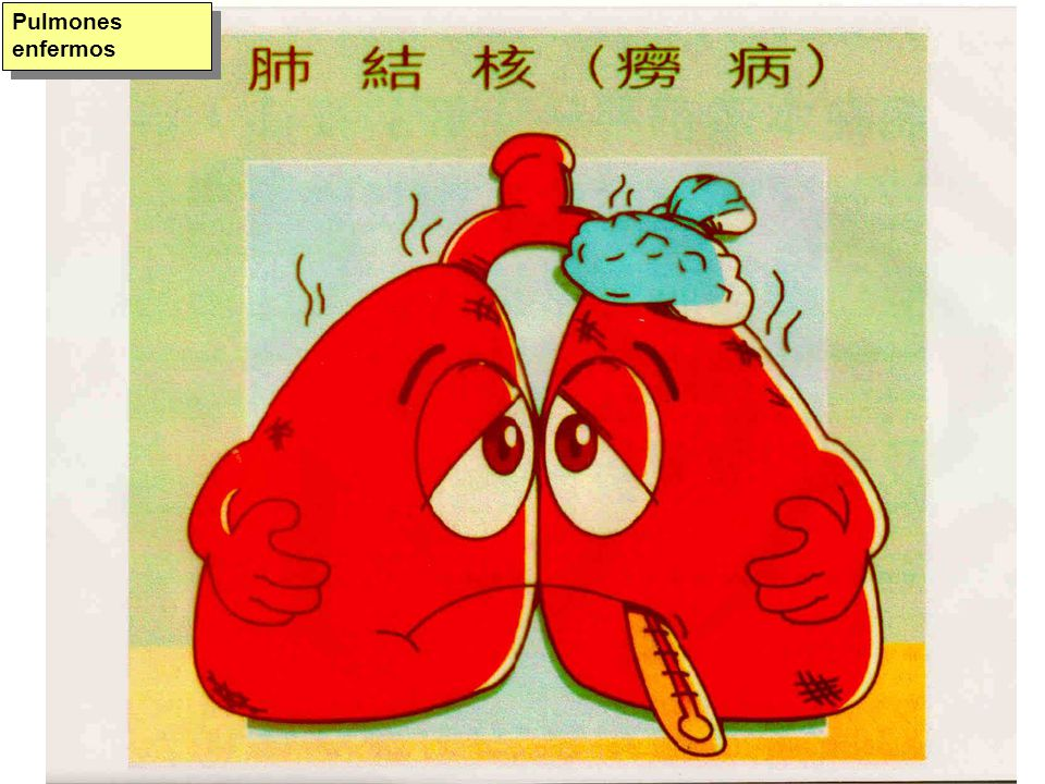 Pulmones enfermos