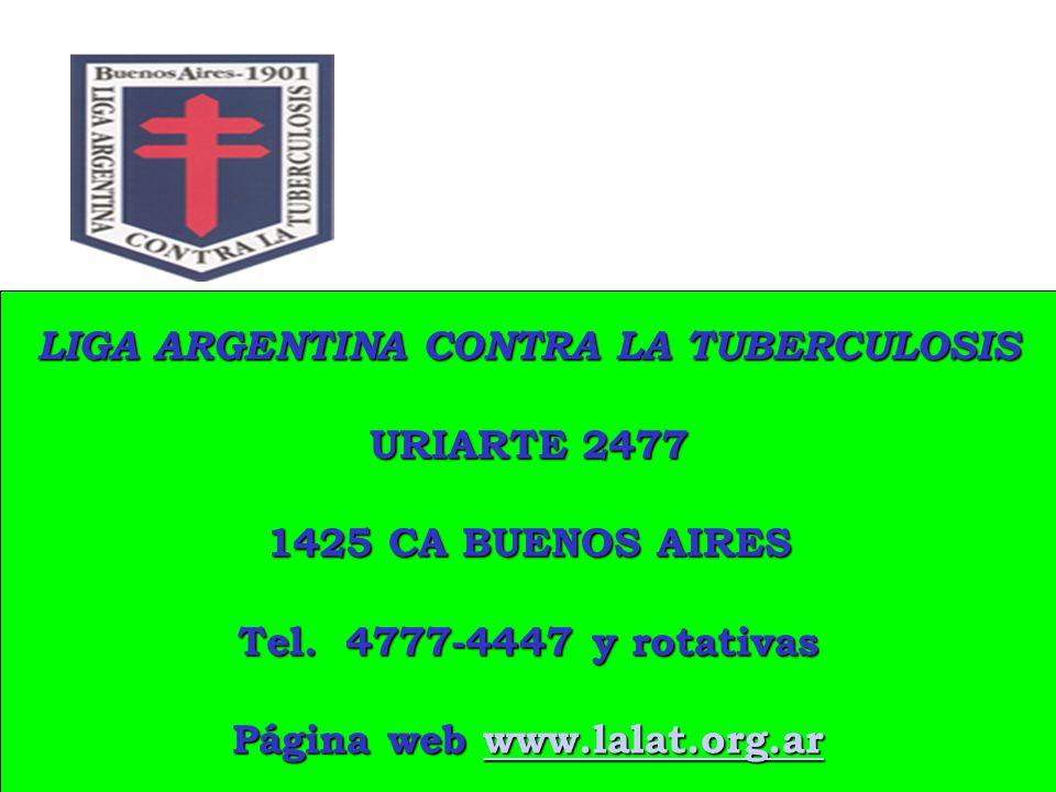 LIGA ARGENTINA CONTRA LA TUBERCULOSIS