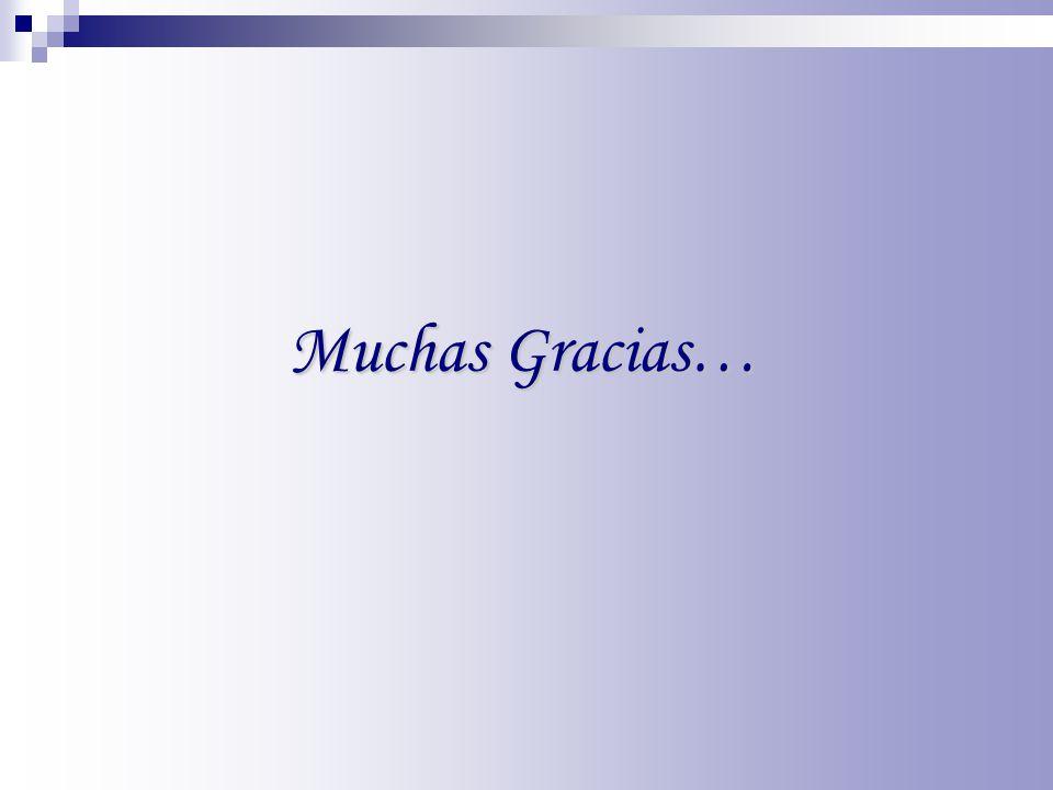 Muchas Gracias… 28