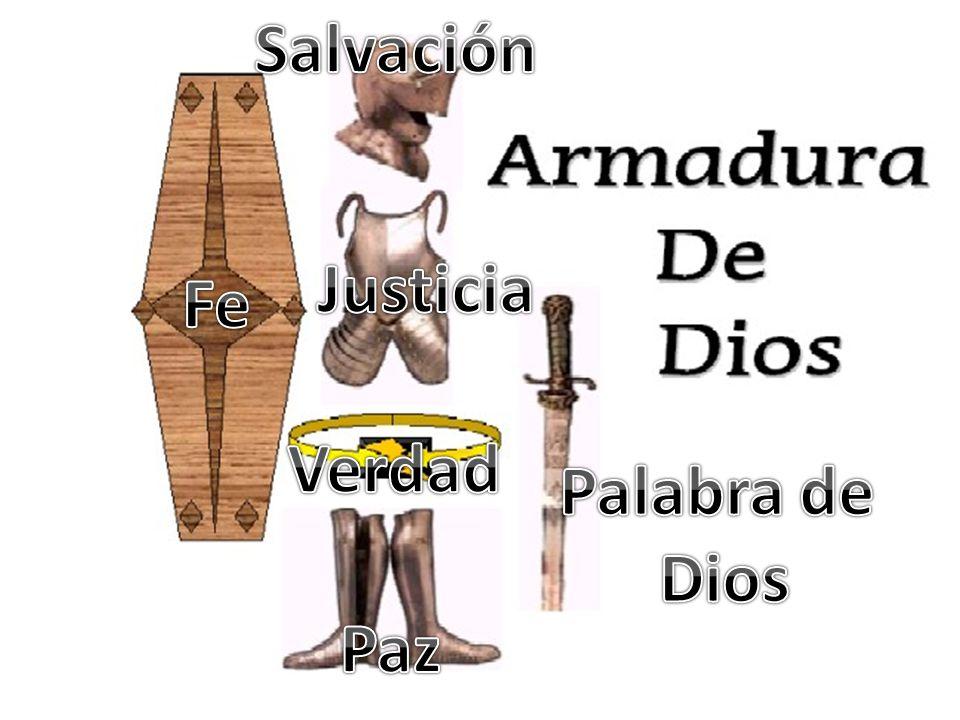 Salvación Justicia Fe Verdad Palabra de Dios Paz