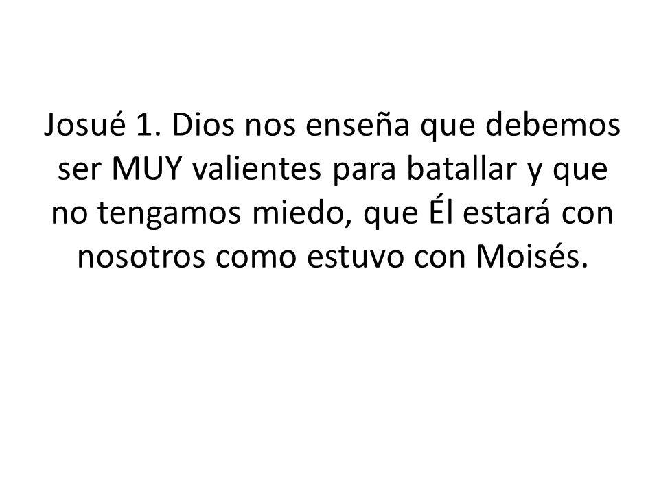 Josué 1.