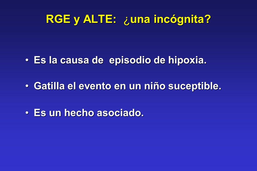 RGE y ALTE: ¿una incógnita