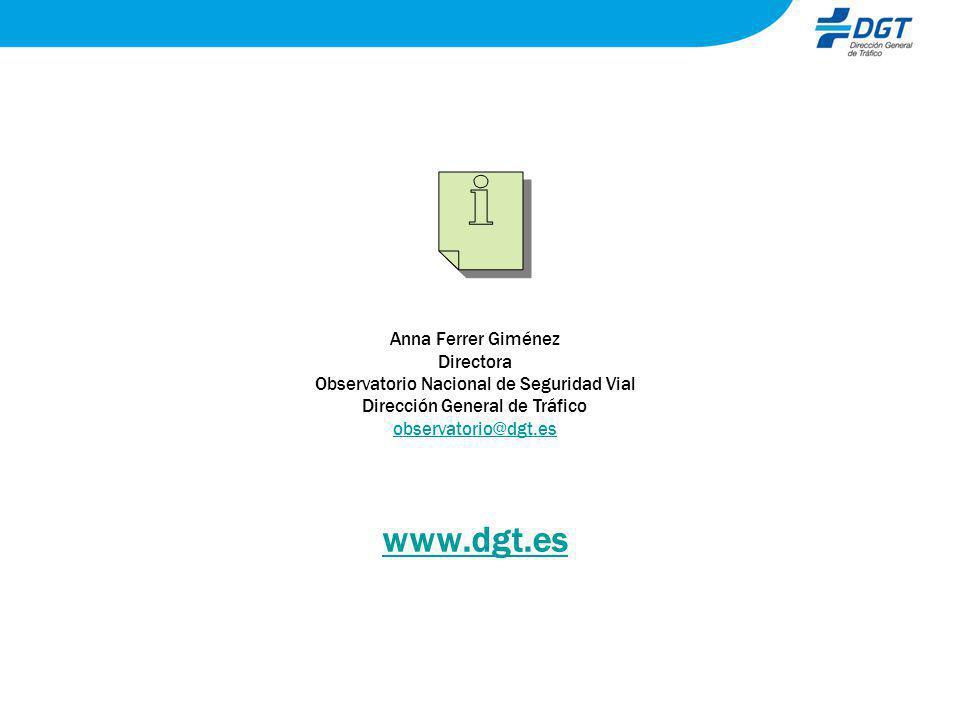 www.dgt.es Anna Ferrer Giménez Directora