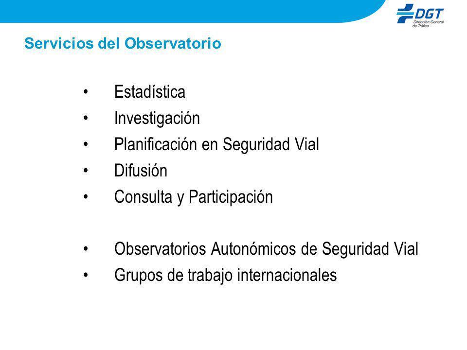 Servicios del Observatorio